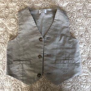 Linen vest